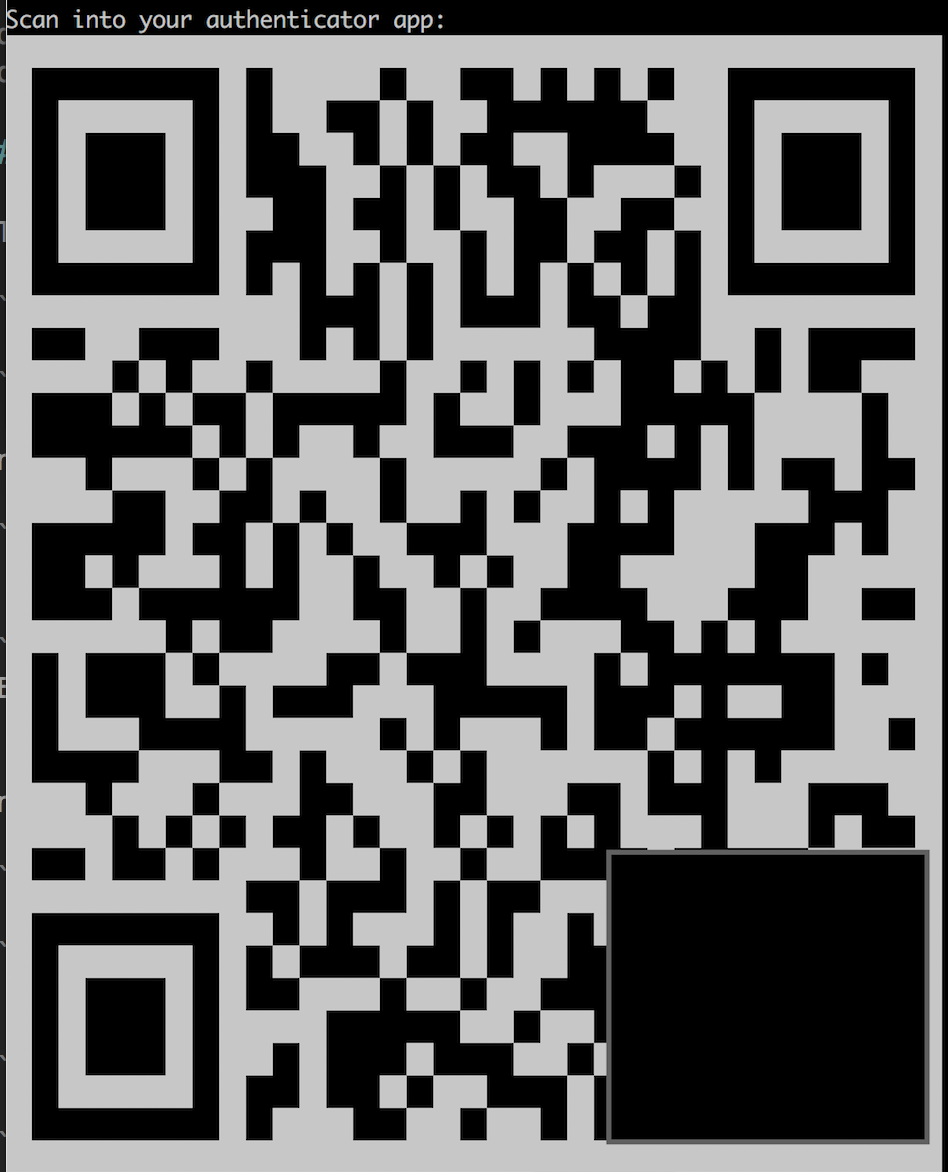 Masked QR Code And Prompt